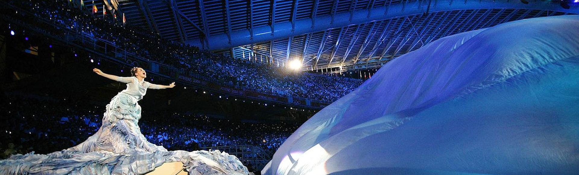 Η τελετή έναρξης των Ολυμπιακών Αγώνων της Αθήνας