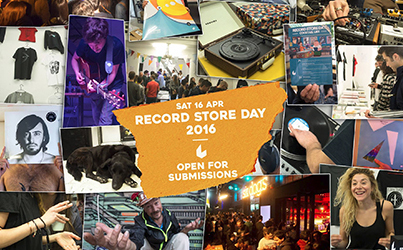 Record Store Day 2016 στο Six Dogs