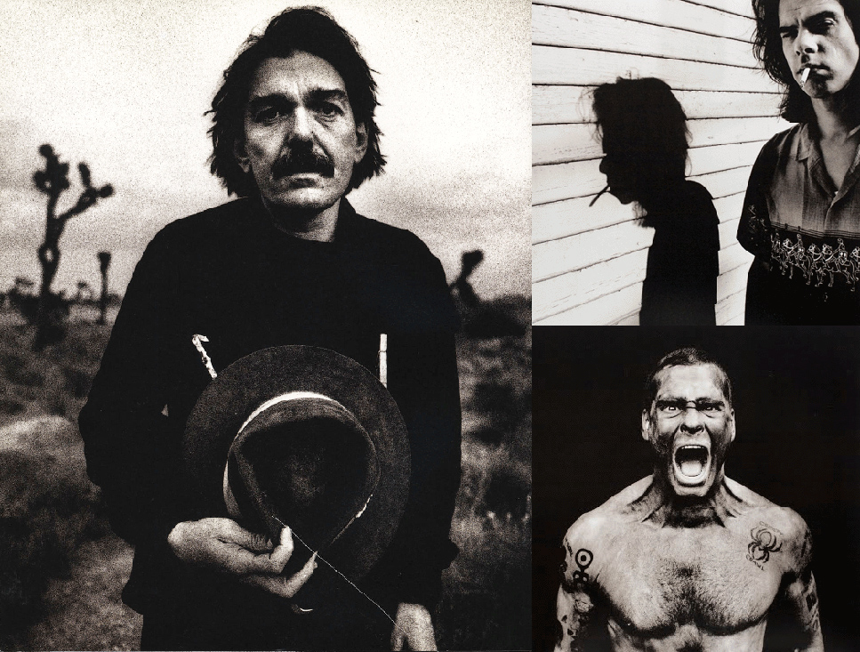 Captain Beefheart, Nick Cave και Henry Rollins.