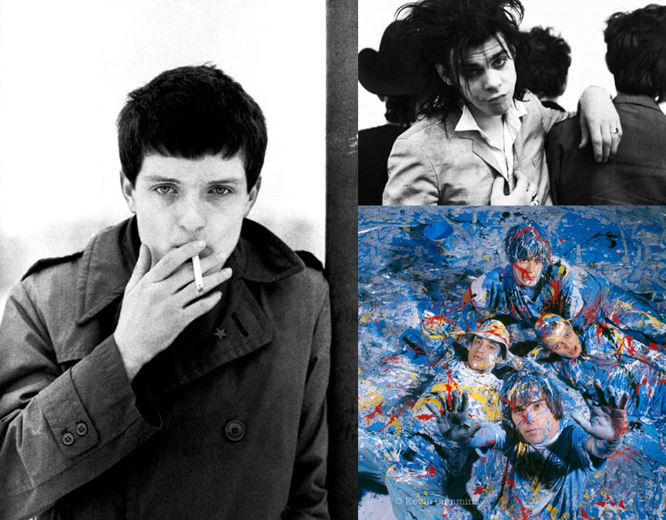 Ian Curtis, Birthday Party και Stone Roses.