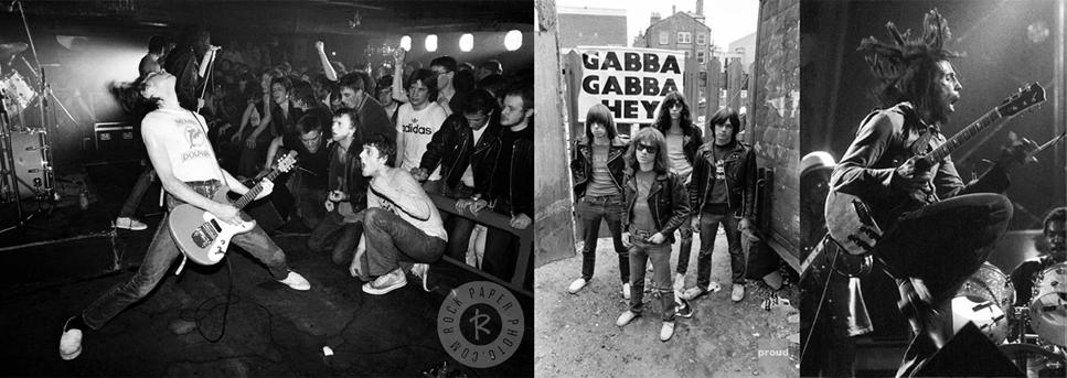 Ramones, Bob Marley