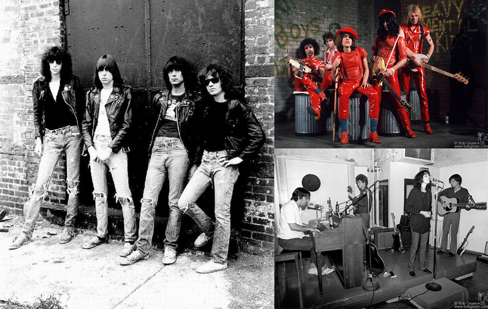 Ramones, New York Dolls,John Cale, Lou Reed, Patti Smith