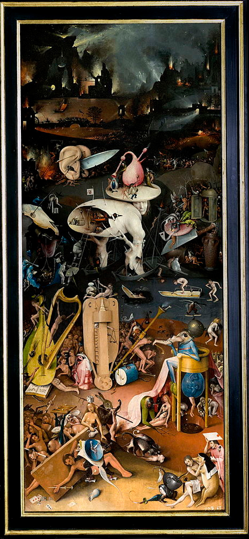 The Garden of Earthly Delights - Right