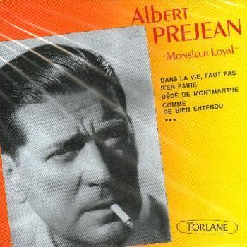 Albert Préjean - Comme de bien entendu