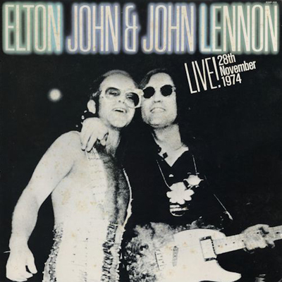 ELTON JOHN with JOHN LENNON