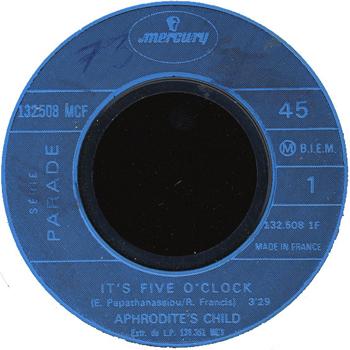 It's five o' clock - Aphrodite's Child