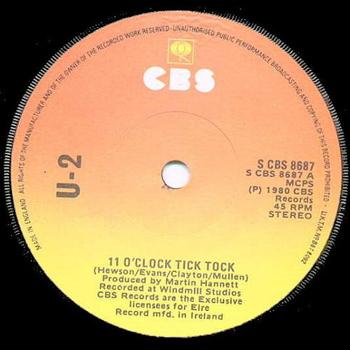 11 O'Clock Tick Tock - U2