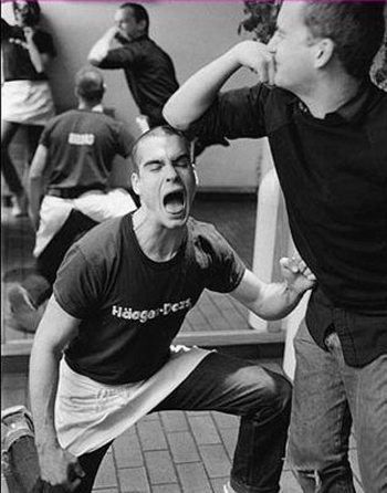 Henry Rollins and Ian MacKaye