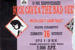 Nick Cave Live 01