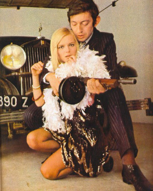 Serge Gainsbourg and France Gall