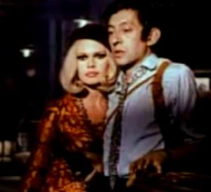 Serge Gainsbourg and Brigitte Bardot