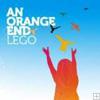 an orange end - lego