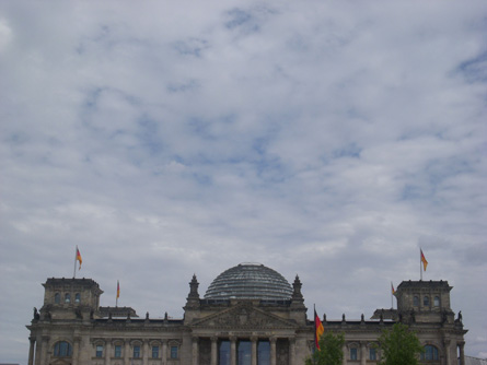 Reichstag and Berlin sky
