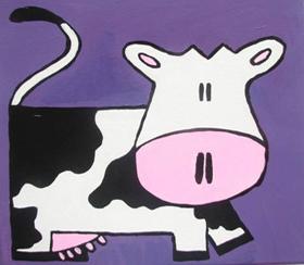 Tετράγωνη  αγελάδα