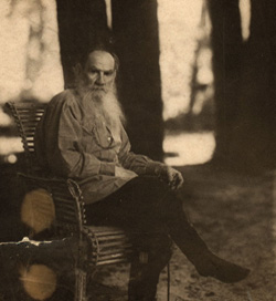 RecliningTolstoy