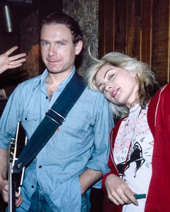 Robert Fripp + Debbie Harry