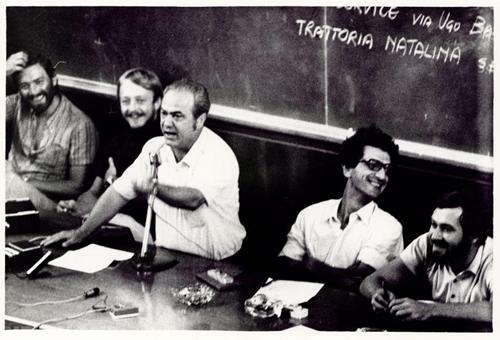 Toni Negri, Padova, 1972, conferanza di Potere Operaio_