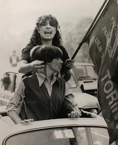 Turin, September 1980. Photograph by Enrico Martino_