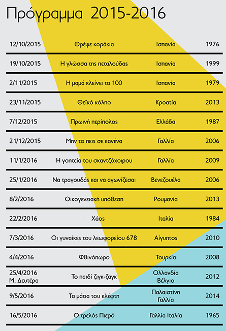 Program 2015-2016