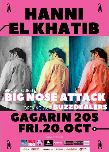 Hanni El Khatib + The Big Nose Attack + Buzzdealers