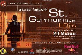 St Germain ticket