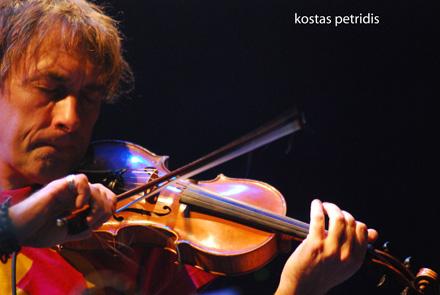 Yann Tiersen and his violin