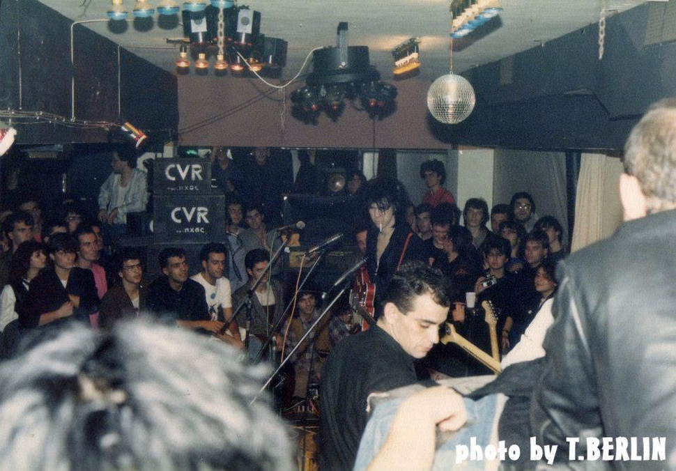 Nick Cave & the Bad Seeds Live in Athens, 20.11.1984