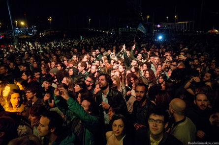 Primavera Crowd