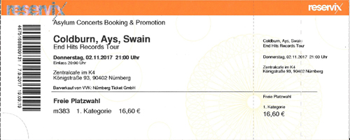 Swain ticket
