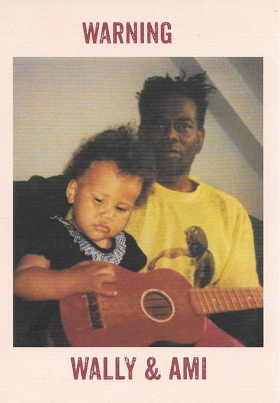 Wally Warning και την κόρη του Ami