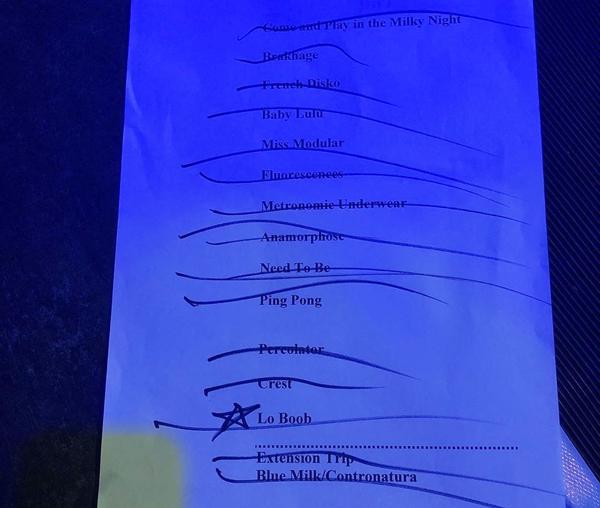 Stereolab setlist