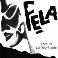 Live Fela Kuti Live in Detroit 1986