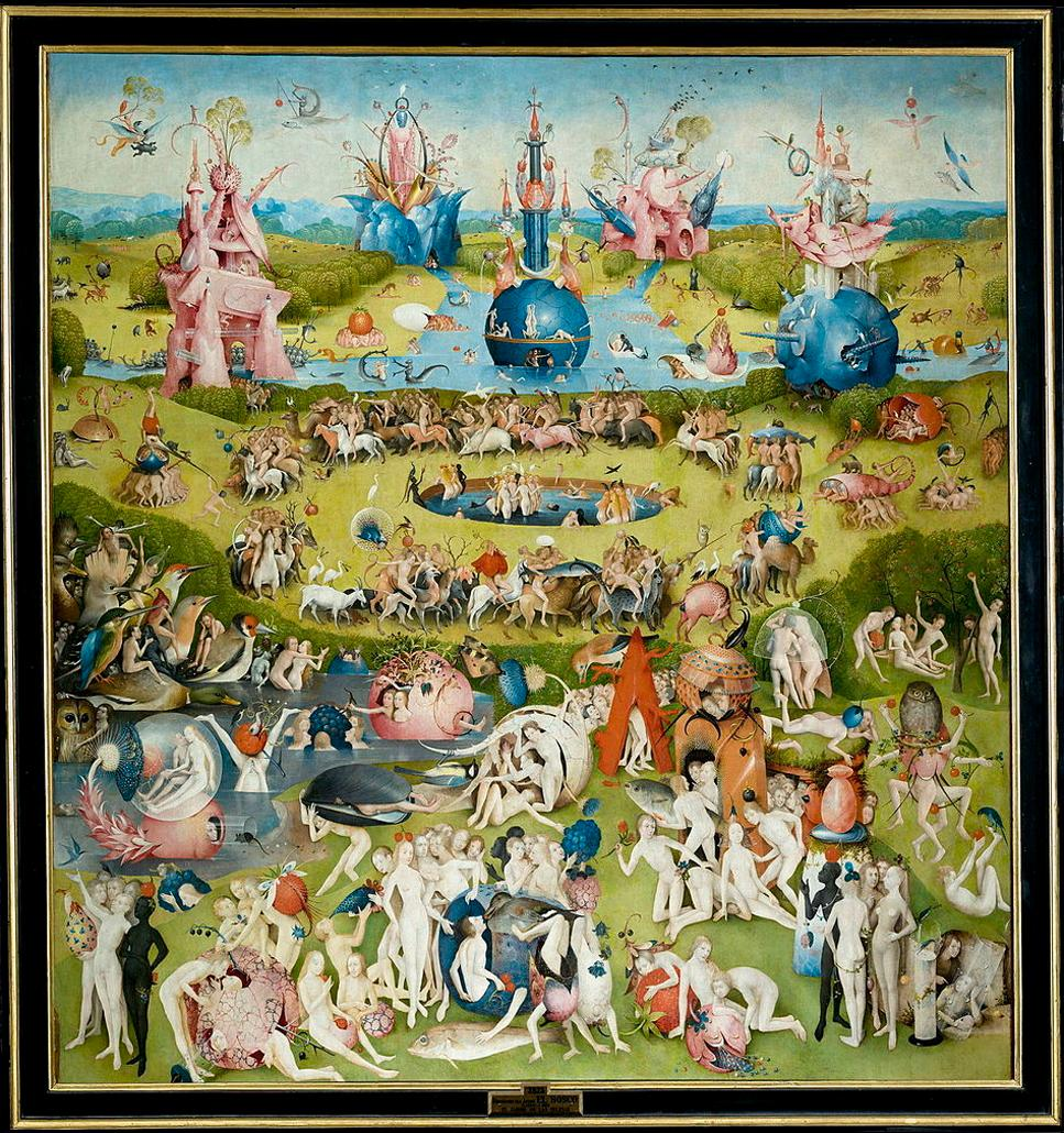 The Garden of Earthly Delights - Center