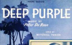 Peter De Rose Deep Purple